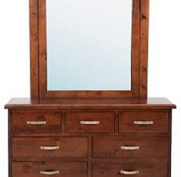 Felton Dresser – 7 Drawers with Mirror